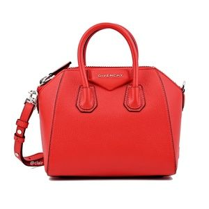 Mini Givenchy Antigona Sugar Leather Satchel